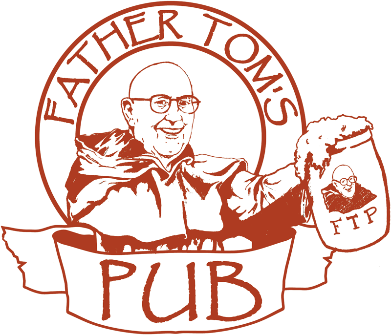 Father Tom's Pub logo